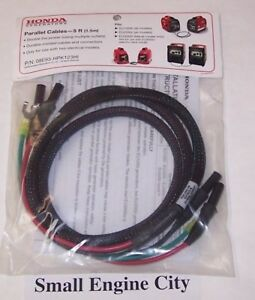 Pet 354 Genuine Honda Parallel Connecting Cables 5 Ft For Eu1000i Eu2000i