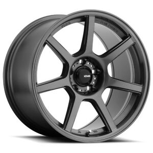 4 New 19x9 5 Konig Ultraform Grey Wheel rim 5x120 19 9 5 5 120 Et35
