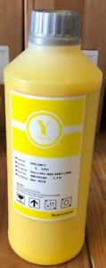 Eco Solvent Yellow Refill Ink 1 000 Ml For Dx4 Dx5 And Dx7 Printers