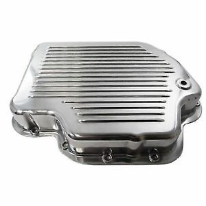 Racing Power Company R8492 Gm Turbo 400 Transmission Pan Finned With Gasket