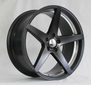 18 Wheels For Infiniti G35 Sedan Coupe 2003 2008 Staggered 5x114 3