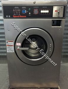Speed Queen Sc20md2 Washer extractor 20lb Coin 220v 3ph Reconditioned
