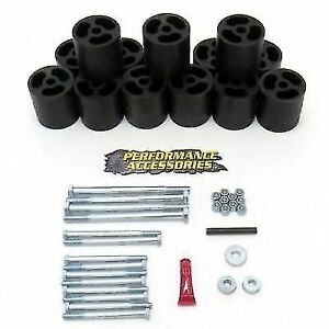 Performance Accessories Pa653 3 Body Lift Kit For 1987 1993 Dodge Ram Pickup