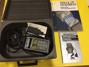 Otc Monitor 4 Model 3460 Engine Scanner Gm Includes Code Poster Free Shipping