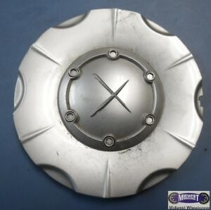 Exel X Used Aftermarket Center Cap 6 Spoke Raised Logo Abs 5 7 8 D