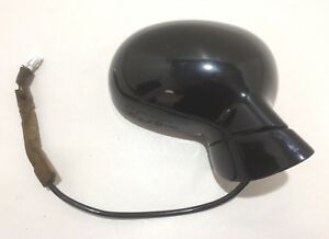1992 1997 Mazda Miata Passenger Power Mirror Brilliant Black Oem Na011