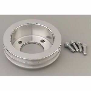 March Performance 1545 Double Groove Crankshaft V belt Pulley