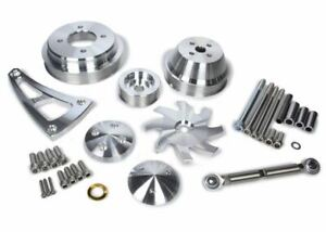 March Performance 30240 Ultra Aluminum Serpentine Pulley Kit For Ford 429 460