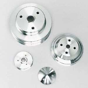 March Performance 7330 High Water Flow Double 6 Rib Serpentine Crank Pulley