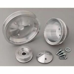 March Performance 6210 Performance Ratio Single 6 rib Serpentine Pulley Kit Swp