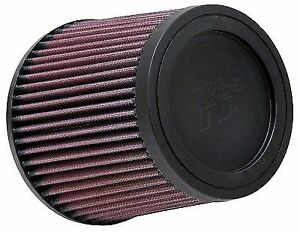 K n Ru 4950 Air Filter Element Round Tapered Cotton Gauze Red 2 5 Dia Inlet Ea