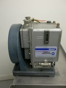Welch 1402n Vacuum Pump 1 2hp Emerson Motor