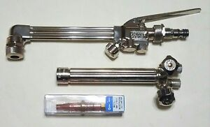 New Miller Smith Cutting Welding Torch Set Cc509p Attachment Wh100 Handle Mc12 1