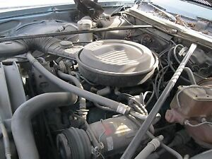 77 Chevy 350 Engine With Auto Trans Complete Lift Out Car Runs And Drives
