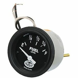 Fuel Safe Ga2641 Fuel Gas Gauge 2 Round Analog