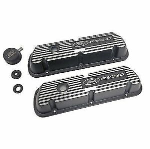 Ford Racing M6582 A301r Valve Covers For 289 302 351w Logo