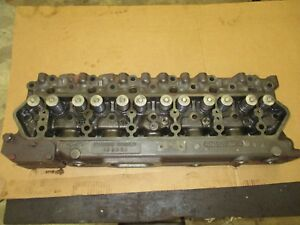 International Farmall 856 Diesel 407 Dt Cylinder Head Ready To Go 345149 R3