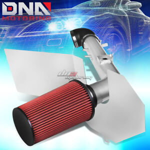 For 01 04 Tundra sequoia 4 7 V8 Polished Aluminum Cold Air Intake heat Shield