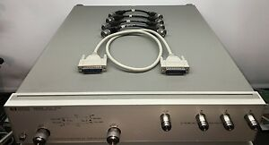 Agilent Hp 85046a With Cables 300 Khz To 3 Ghz