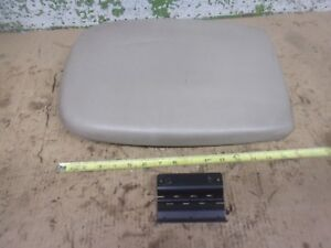 2000 Ford Expedition Tan Center Console Lid With Hinge Interior 2001 2002 Oem