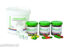 Dental Amalgam Marvalloy Reg 50 Caps Spill 3 800mg 43 Silver By Dmp
