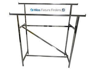 Double Rail Clothing H Rack