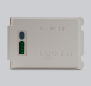 Physio Control Lifepak 12 Rechargeable Lithium Ion Battery 11141 000106 Tested
