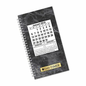 Day timer 2019 Daily Planner Refill 3 1 2 X 6 1 2 Pocket Size 2 Two Page