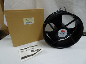 10 Round Axial Fan Rpm 1600 Amps 115 Volts 60hz Dayton 3vu71