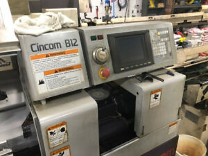 Citizen B 12 Swiss Type Cnc Lathe