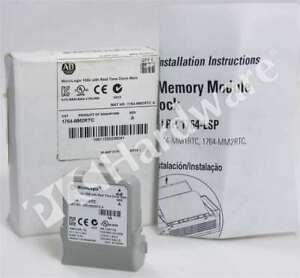 New Allen Bradley 1764 mm2rtc a Micrologix 1500 16 Kb Memory Module With Rtc