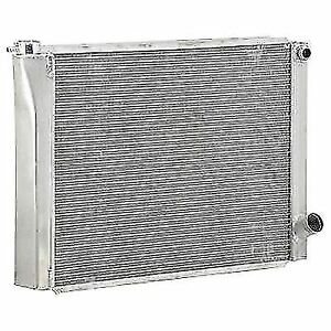 Be Cool 35028 Qualifier Circle Track Dual Pass Radiator 1 Core