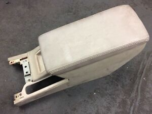 91 95 Legend 4dr Center Console Armrest Lid Storage Pocket Brownish Leather Oem
