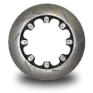 Afco Racing 6640107 Pillar Vane Slotted Rotor 11 75 X 1 25 8 Bolt lh