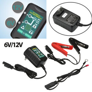 6v 12v 1 5a Battery Charger Tender Maintainer Auto Trickle Charger Wet Gel Agm