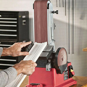 Skil 3376-01 4.3 Amp 4 in. x 36 in. Belt  6 in. Disc Sander