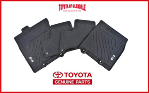 2011 2014 Toyota Fj Cruiser All Weather rubber Floor Mats Genuine Pt206 35110 21