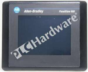 Allen Bradley 2711 t6c8l1 Series B Panelview 600 Color 6 in Touch Dh rs 232