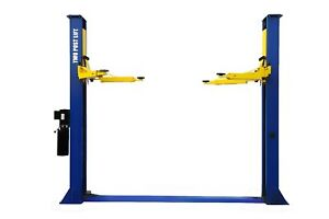New Apluslift 9 000lb 2 post Heavy Duty Auto Lift Car Hoist Free Truck Adapters