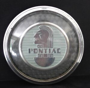 1941 Pontiac Chieftain Horn Button Silver Streak Original Years 1946 Different