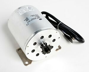 1500w Watt 48v Volt Bldc Electric Motor W Base Boma Bm1024 T8f Sprocket Gok