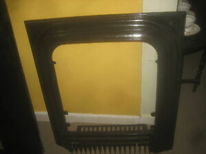 Cast Iron Fireplace Surround With Coal Wood Grate