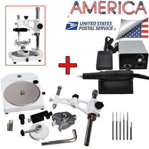 Fda Micromotor Polisher Fit Marathon 35krpm Handpiece Parallel Surveyor For Lab