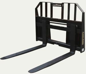 2018 Kubota Land Pride Pfl2042 Skid steer Attachment Tractor Loader Pallet Forks