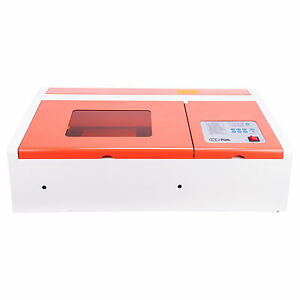 High Precision Usb 40w Co2 Laser Engraver Cutter Machine Upgraded Control Board