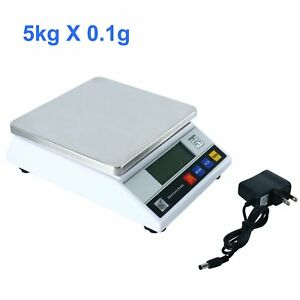 Yaeccc Electronic Digital Scale Industrial Scale Lab Counting Function 5kg 0 1g