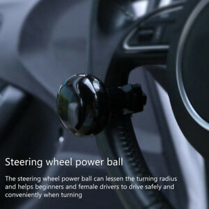 Auto Car Power Steering Wheel Ball Suicide Spinner Handle Knob Booster Retro B1