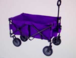 Yard Cart Wagon Grocery purple