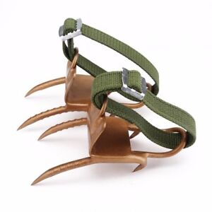 Tree Climbing Spurs Spikes Outdoor Iron Claw Tree Climbing Tools Picking