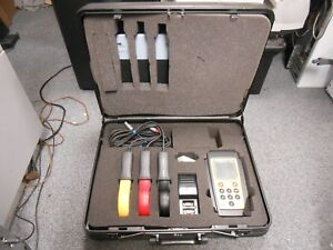 Ideal 61 805 Power Analyzer With 3 Cpr 1000 Clamps And Accessories New